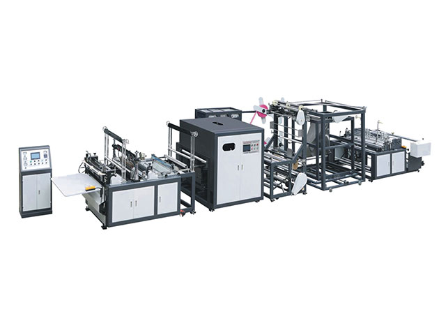 non woven bag making machine with handle attach (3type with 1